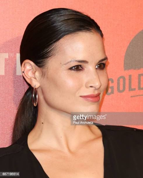 Actress Katrina Law attends the opening night performance of 'Absinthe' at LA Live Event Deck on March 23 2017 in Los Angeles California