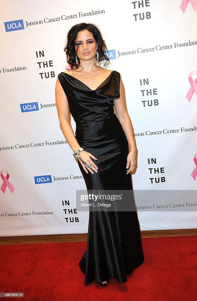 Actress Katrina Law attends TJ Scott's 'In The Tub' Book Party Launch to benefit UCLA's Jonsson Cancer Center for Breast Research hosted by Katrina Law of 'Spartacus' held at Light In Art on December 12, 2013 in Los Angeles, California.