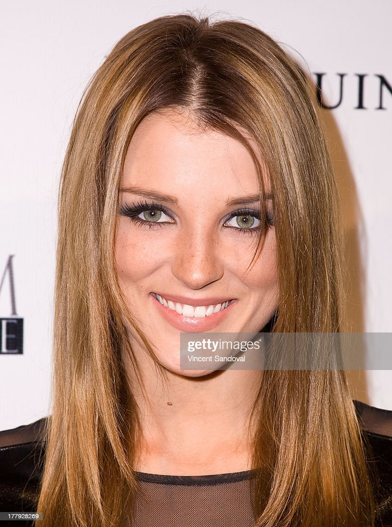 Actress Katrina Norman attends the Viva Glam magazine summer 2013 print issue launch party at W Hollywood on August 25, 2013 in Hollywood, California.