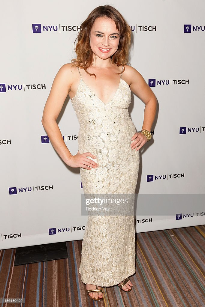 Actress Katy Foley attends NYU's Tisch School Of the Arts LA Gala at Regent Beverly Wilshire Hotel on October 28, 2013 in Beverly Hills, California.