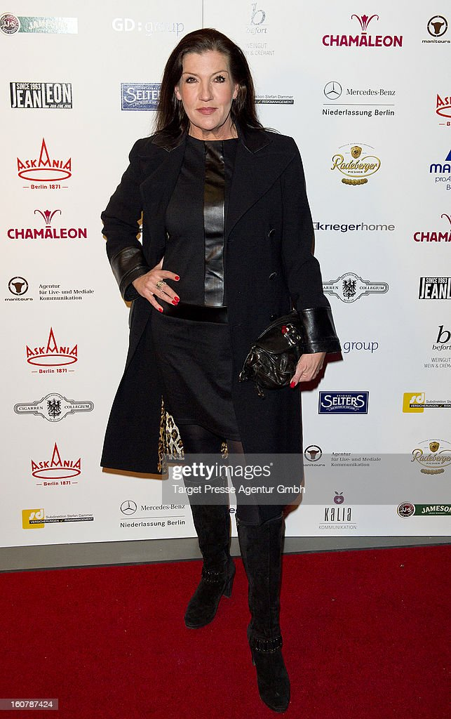 Actress Katy Karrenbauer attends the 6th Askania Award 2013 on February 5, 2013 in Berlin, Germany.