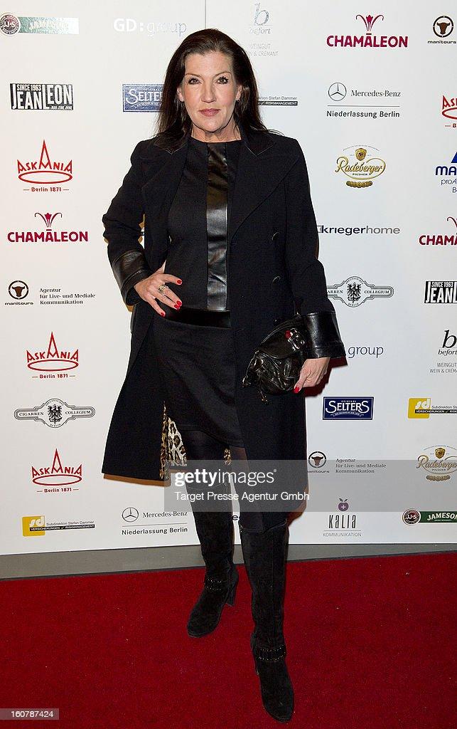 Actress Katy Karrenbauer attends the 6th Askania Award 2013 on February 5, 2013 in Berlin, Germany.