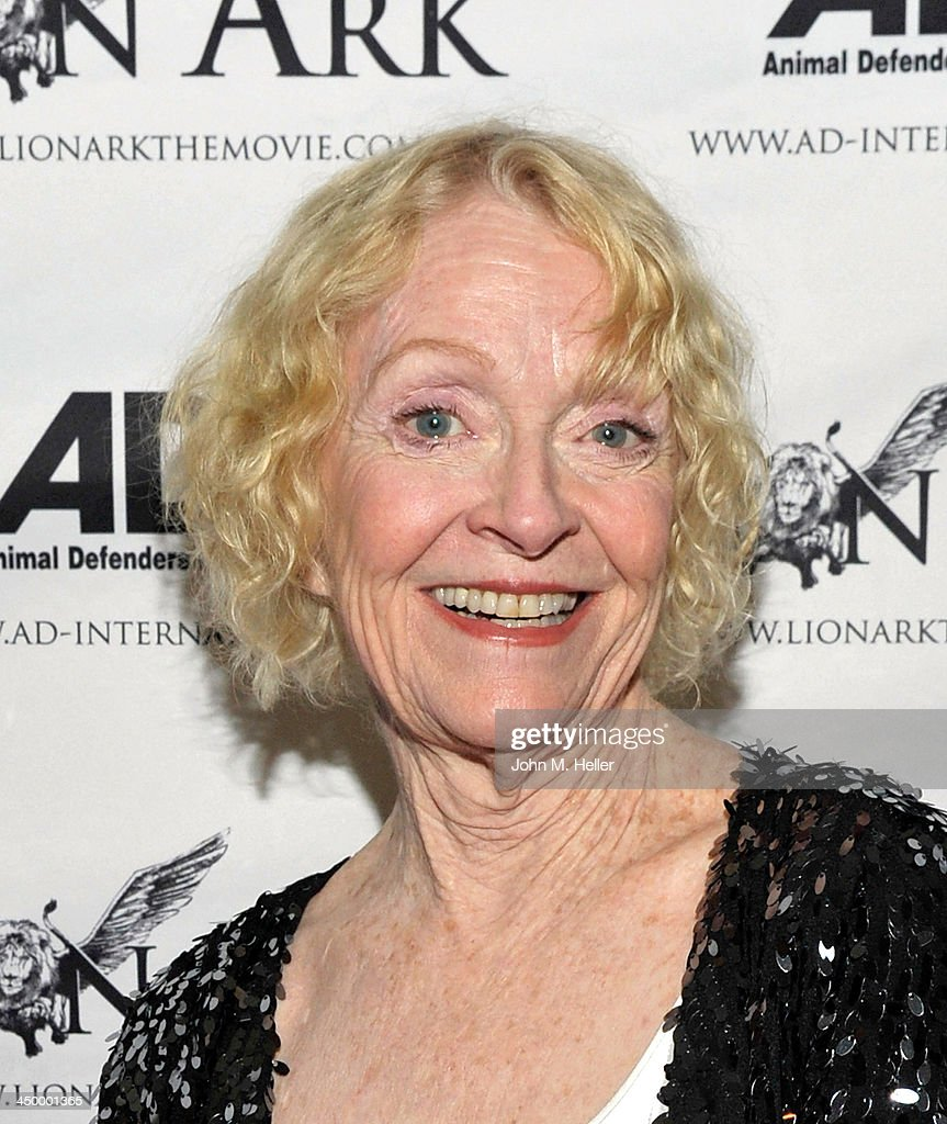 Actress Kay Callen attends the premiere of 'Lion Ark' at the Charles Aidikoff Screening Room on November 15, 2013 in Beverly Hills, California.
