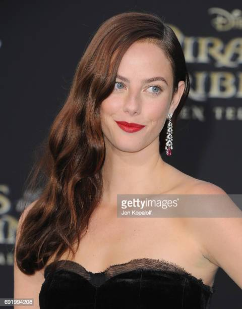 Actress Kaya Scodelario arrives at the Los Angeles Premiere 'Pirates Of The Caribbean Dead Men Tell No Tales' at Dolby Theatre on May 18 2017 in...