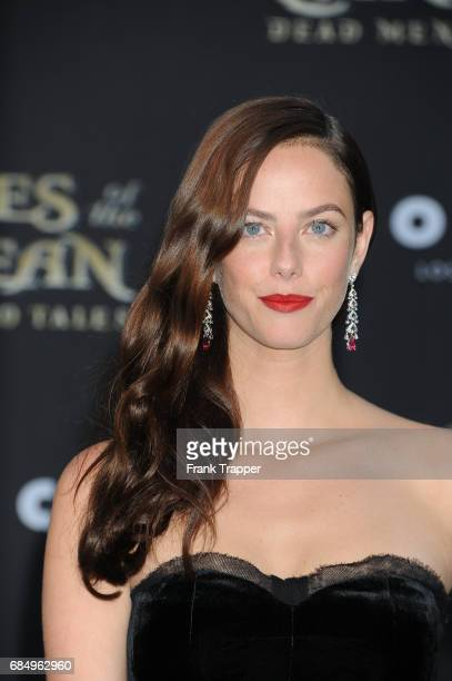 Actress Kaya Scodelario arrives at the premiere of Disney's 'Pirates of the Caribbean Dead Men Tell No Tales' at the Dolby Theatre on May 18 2017 in...