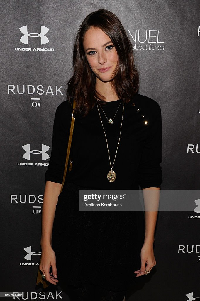 Actress <a gi-track='captionPersonalityLinkClicked' href=/galleries/search?phrase=Kaya+Scodelario&family=editorial&specificpeople=5123546 ng-click='$event.stopPropagation()'>Kaya Scodelario</a> attends The Next Generation Filmmaker Dinner Series Presents 'Emanuel And The Truth About Fishes' on January 18, 2013 in Park City, Utah.