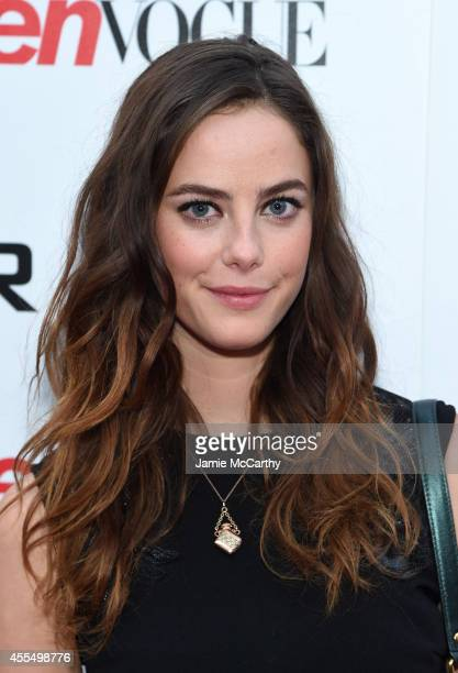 Actress Kaya Scodelario attends the Twentieth Century Fox and Teen Vogue screening of 'The Maze Runner' at SVA Theater on September 15 2014 in New...