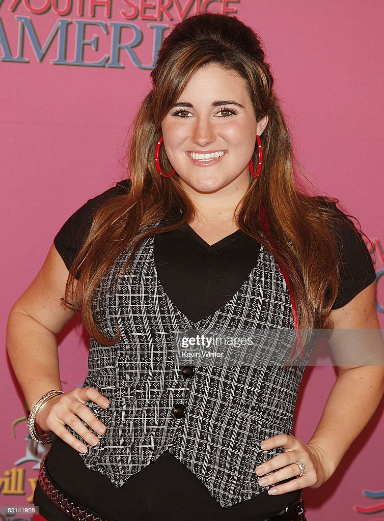 Actress Kaycee Stroh arrives at Miley Cyrus' 'Sweet 16' birthday celebration benefiting Youth Service America at Disneyland on October 5, 2008 in Anaheim, California.