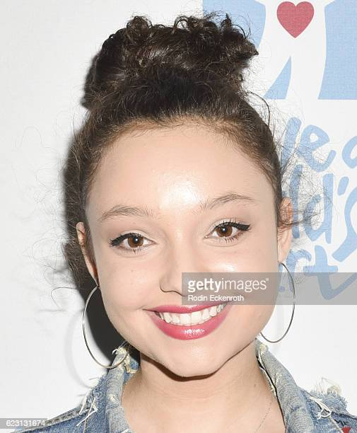 Actress Kayla Maisonet arrives at the 3rd Annual Save A Child's Heart Gala at Sony Studios Commissary on November 13 2016 in Culver City California
