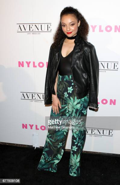 Actress Kayla Maisonet attends NYLON's Annual Young Hollywood May Issue Event at Avenue on May 2 2017 in Los Angeles California