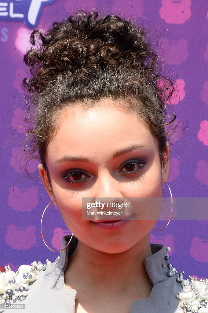 Actress Kayla Maisonet attends the 2016 Radio Disney Music Awards at Microsoft Theater on April 30, 2016 in Los Angeles, California.