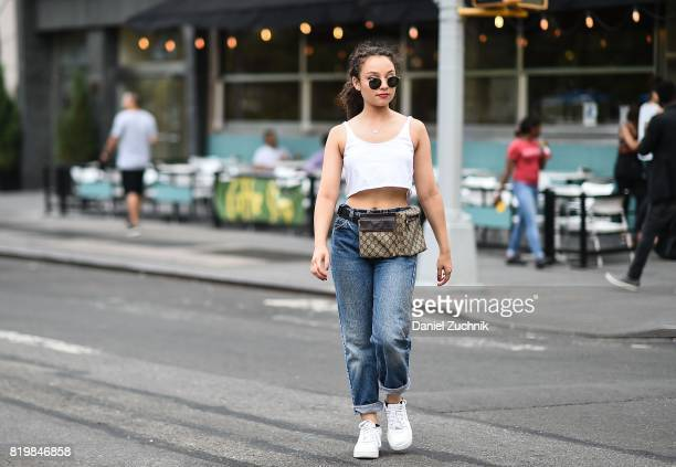 Actress Kayla Maisonet is seen in Union Square on July 20 2017 in New York City