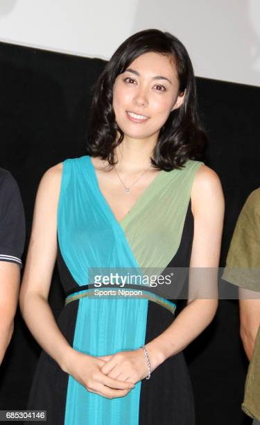 Actress Kazue Fukiishi attends premier of film 'Gegege no Nyobo' on July 21 2010 in Tokyo Japan