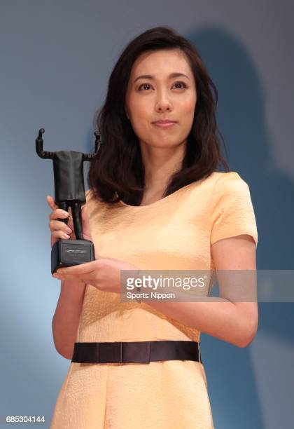 Actress Kazue Fukiishi attends the 52nd ACC CM Festival Awards Ceremony on November 1 2012 in Tokyo Japan