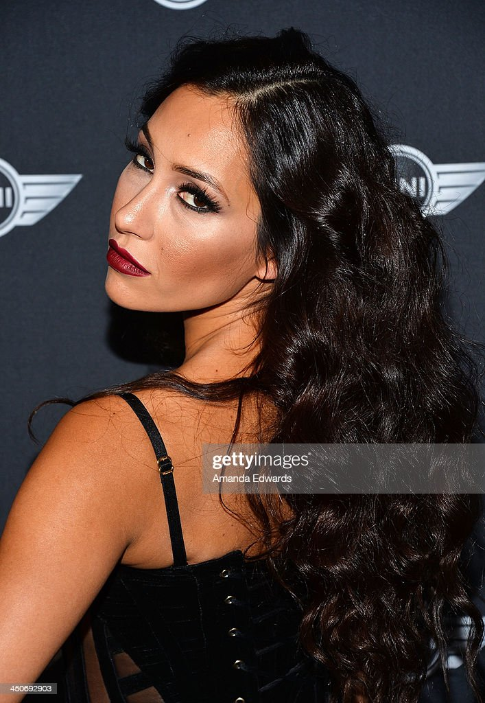 Actress Kea Ho arrives at the MINI Cooper red carpet premiere on November 19, 2013 in Los Angeles, California.