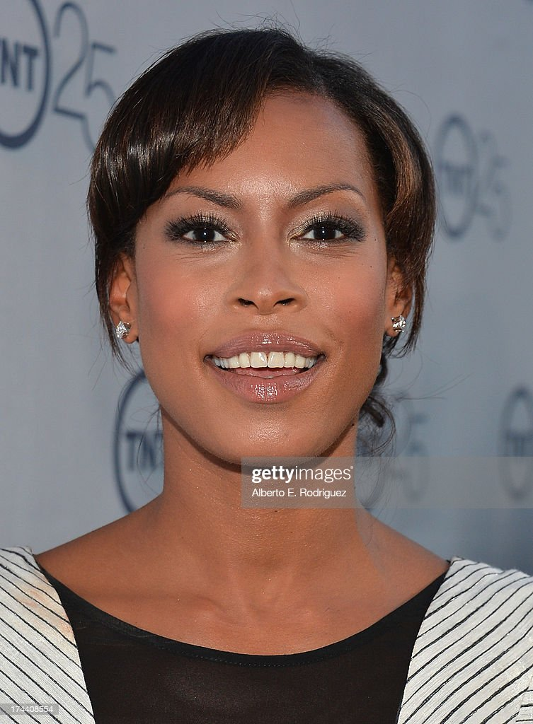 Actress Kearran Giovanni arrives to TNT's 25th Anniversary Party at The Beverly Hilton Hotel on July 24, 2013 in Beverly Hills, California.