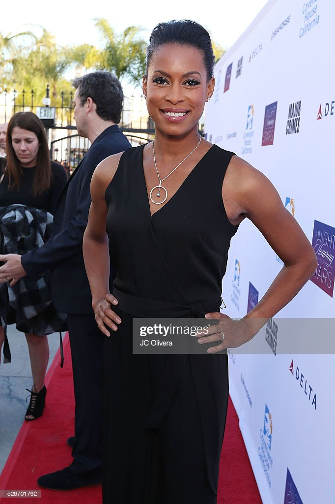 Actress Kearran Giovanni attends Covenant House Of California's Annual Fundraising Gala, A Night Honoring Our Stars at The Globe Theatre at Universal Studios on April 30, 2016 in Universal City, California.