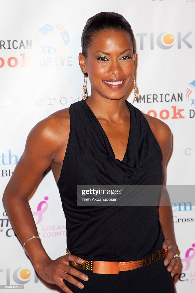 Actress Kearran Giovanni attends the 2nd Annual Designs For The Cure Gala at Millennium Biltmore Hotel on October 13, 2012 in Los Angeles, California.