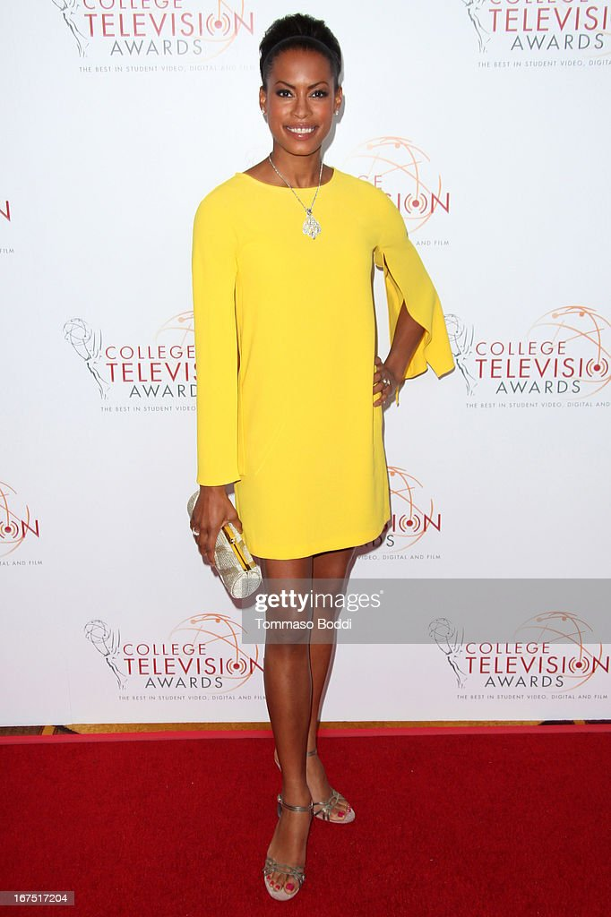 Actress Kearran Giovanni attends the 34th College Television Awards Gala held at the JW Marriott Los Angeles at L.A. LIVE on April 25, 2013 in Los Angeles, California.
