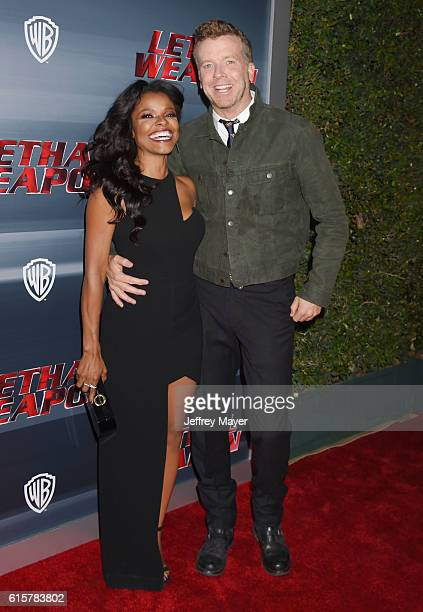 Actress Keesha Sharp and executive producer McG attend the premiere of Fox Network's 'Lethal Weapon' at NeueHouse Hollywood on September 12 2016 in...