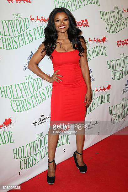 Actress Keesha Sharp arrives at the 85th Annual Hollywood Christmas Parade on November 27 2016 in Hollywood California