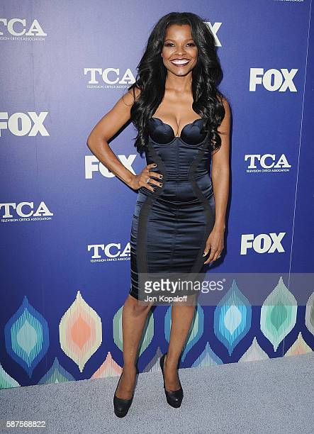 Actress Keesha Sharp arrives at the FOX Summer TCA Press Tour on August 8 2016 in Los Angeles California