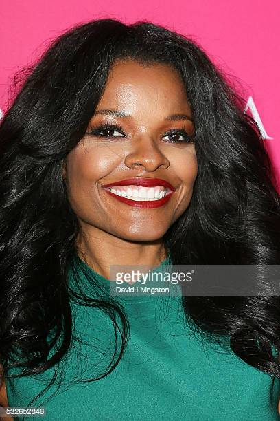 Actress Keesha Sharp arrives at the OK Magazine's So Sexy LA at the Skybar at Mondrian on May 18 2016 in West Hollywood California