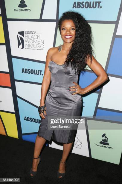 Actress Keesha Sharp attends 2017 Essence Black Women in Music at NeueHouse Hollywood on February 9 2017 in Los Angeles California