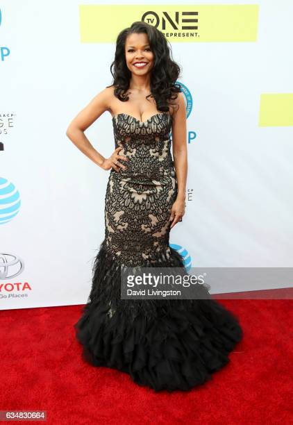 Actress Keesha Sharp attends the 48th NAACP Image Awards at Pasadena Civic Auditorium on February 11 2017 in Pasadena California