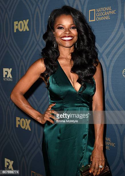 Actress Keesha Sharp attends the FOX Broadcasting Company FX National Geographic And Twentieth Century Fox Television's 68th Primetime Emmy Awards...