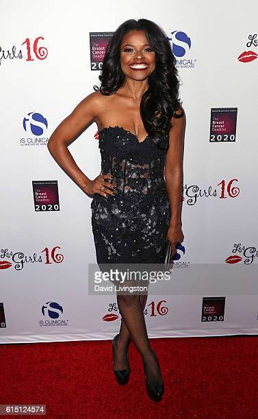 Actress Keesha Sharp attends the National Breast Cancer Coalition's 16th Annual Les Girls Cabaret at Avalon Hollywood on October 16 2016 in Los...