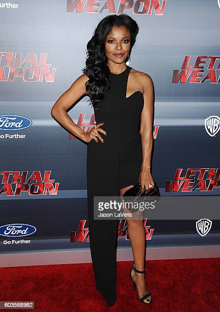 Actress Keesha Sharp attends the premiere of 'Lethal Weapon' at NeueHouse Hollywood on September 12 2016 in Los Angeles California