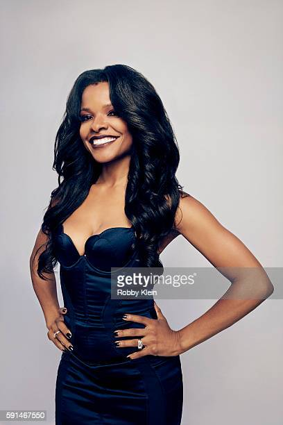 Actress Keesha Sharp from FOX's 'Lethal Weapon' poses for a portrait at the FOX Summer TCA Press Tour at Soho House on August 9 2016 in Los Angeles...