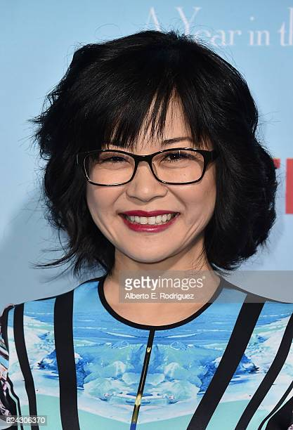 Actress Keiko Agena attends the premiere of Netflix's 'Gilmore Girls A Year In The Life' at the Regency Bruin Theatre on November 18 2016 in Los...