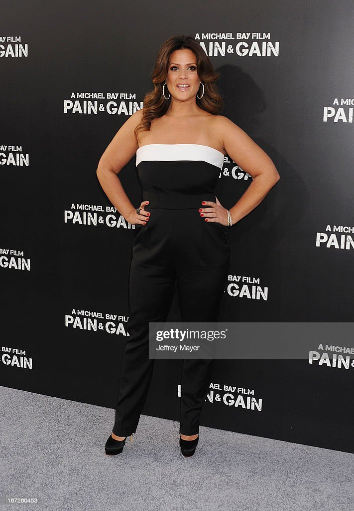 Actress Keili Lefkovitz attends the 'Pain & Gain' premiere held at TCL Chinese Theatre on April 22, 2013 in Hollywood, California.