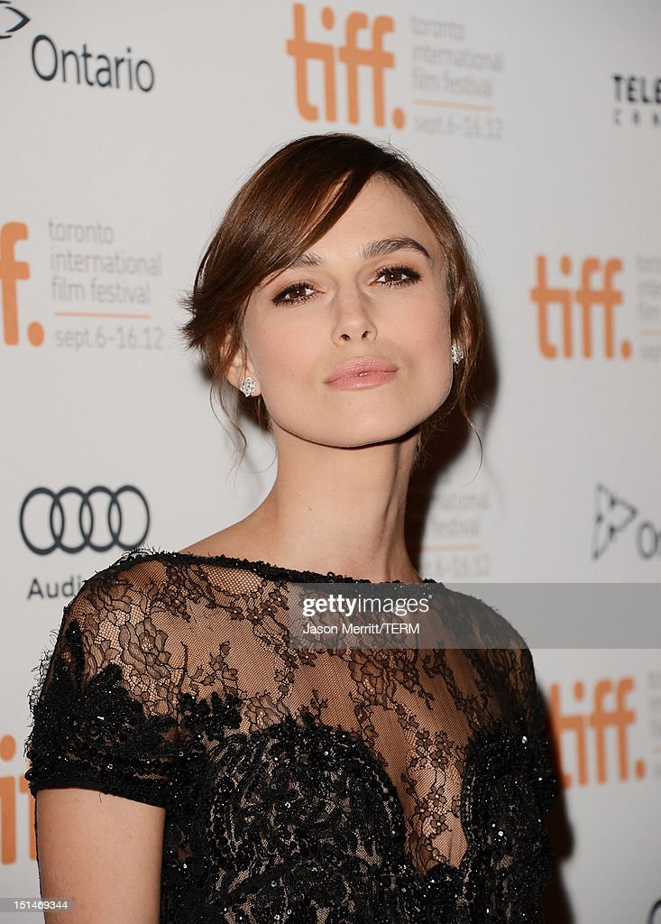 Actress Keira Knightle attends the 'Anna Karenina' premiere during the 2012 Toronto International Film Festival at The Elgin on September 7, 2012 in Toronto, Canada.