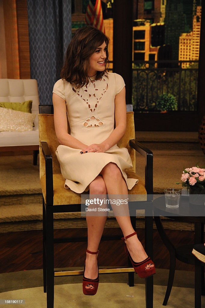 MICHAEL -12/7/12 - Actress Keira Knightley appears on the newly-rechristened syndicated talk show, LIVE with Kelly and Michael,' distributed by Disney-ABC Domestic Television. KEIRA