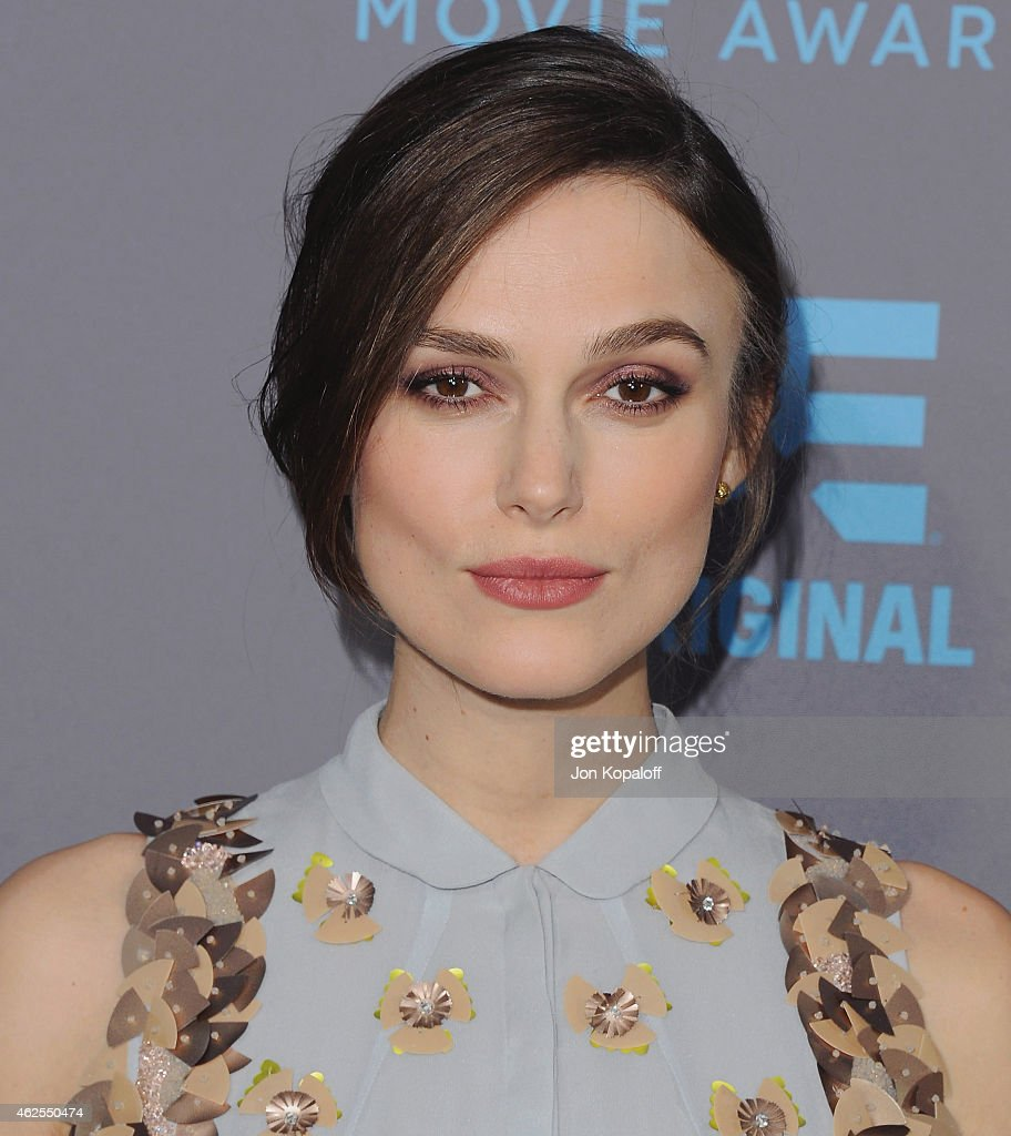 Actress Keira Knightley arrives at the 20th Annual Critics' Choice Movie Awards at Hollywood Palladium on January 15, 2015 in Los Angeles, California.