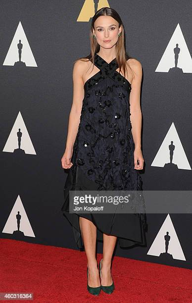 Actress Keira Knightley arrives at the Academy Of Motion Picture Arts And Sciences' Governors Awards at The Ray Dolby Ballroom at Hollywood Highland...