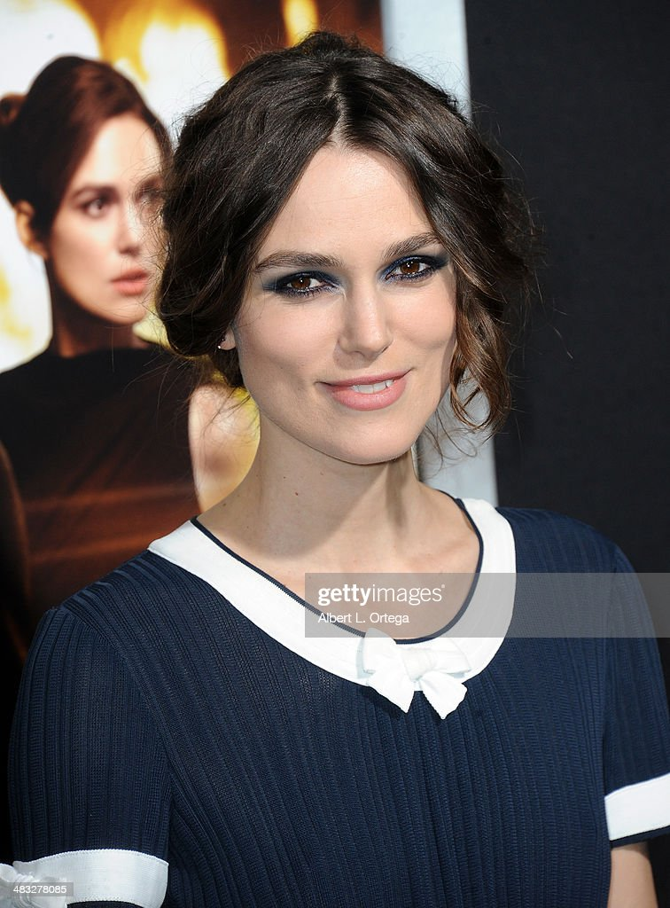 Actress <a gi-track='captionPersonalityLinkClicked' href=/galleries/search?phrase=Keira+Knightley&family=editorial&specificpeople=202053 ng-click='$event.stopPropagation()'>Keira Knightley</a> arrives at the Premiere Of Paramount Pictures' 'Jack Ryan: Shadow Recruit' held at TCL Chinese Theatre on January 15, 2014 in Hollywood, California.
