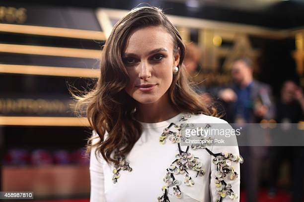 Actress Keira Knightley attends the 18th Annual Hollywood Film Awards at The Palladium on November 14 2014 in Hollywood California