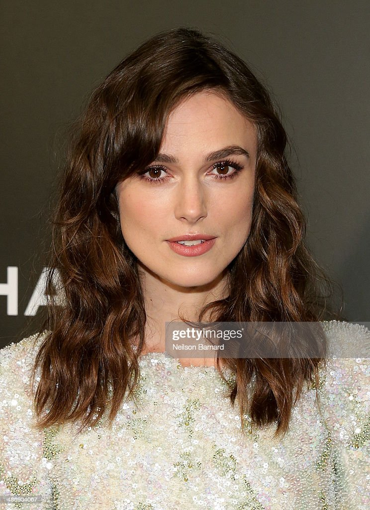 """Actress Keira Knightley attends the 2014 Tribeca Film Festival closing night film """"Begin Again"""" hosted by CHANEL at BMCC Tribeca PAC on April 26, 2014 in New York City."""