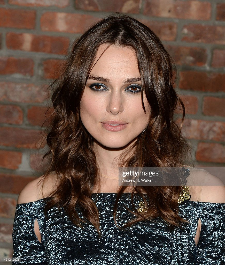 Actress Keira Knightley attends the 'Begin Again' New York premiere after party at The Bowery Hotel on June 25, 2014 in New York City.