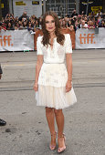Actress Keira Knightley attends 'The Imitation Game' Premiere during the 2014 Toronto International Film Festival at Princess of Wales Theatre on...