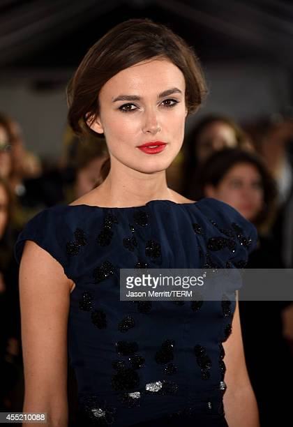 Actress Keira Knightley attends the 'Laggies' premiere during the 2014 Toronto International Film Festival at Roy Thomson Hall on September 10 2014...