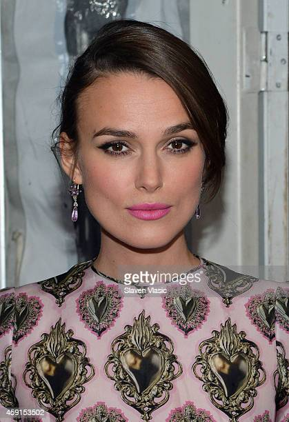 Actress Keira Knightley attends the premiere of The Imitation Game hosted By Weinstein Company on November 17 2014 in New York City