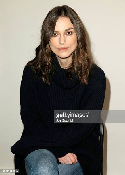 Actress Keira Knightley attends The Variety Studio Sundance Edition Presented By Dawn Levy on January 18 2014 in Park City Utah