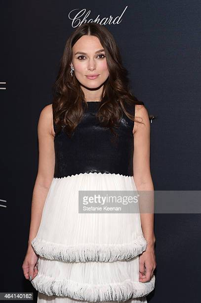 Actress Keira Knightley attends The Weinstein Company's Academy Awards Nominees Dinner in partnership with Chopard DeLeon Tequila FIJI Water and MAC...
