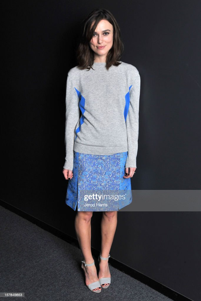 Actress <a gi-track='captionPersonalityLinkClicked' href=/galleries/search?phrase=Keira+Knightley&family=editorial&specificpeople=202053 ng-click='$event.stopPropagation()'>Keira Knightley</a> attends TheWrap's Awards Season Screening Series of 'Anna Karenina' on December 6, 2012 in Los Angeles, California.
