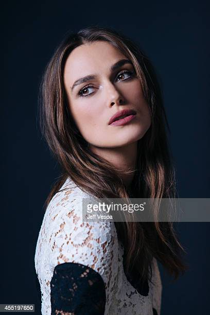 Actress Keira Knightley is photographed for a Portrait Session at the 2014 Toronto Film Festival on September 9 2014 in Toronto Ontario